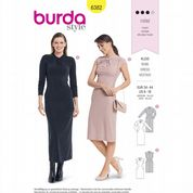 6382 Burda Pattern: Misses' Dresses